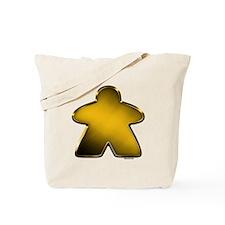 Metallic Meeple - Gold Tote Bag