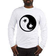 Ying Yang Meeple Long Sleeve T-Shirt
