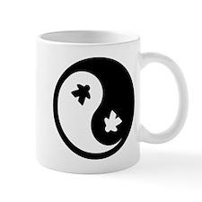 Ying Yang Meeple Mugs