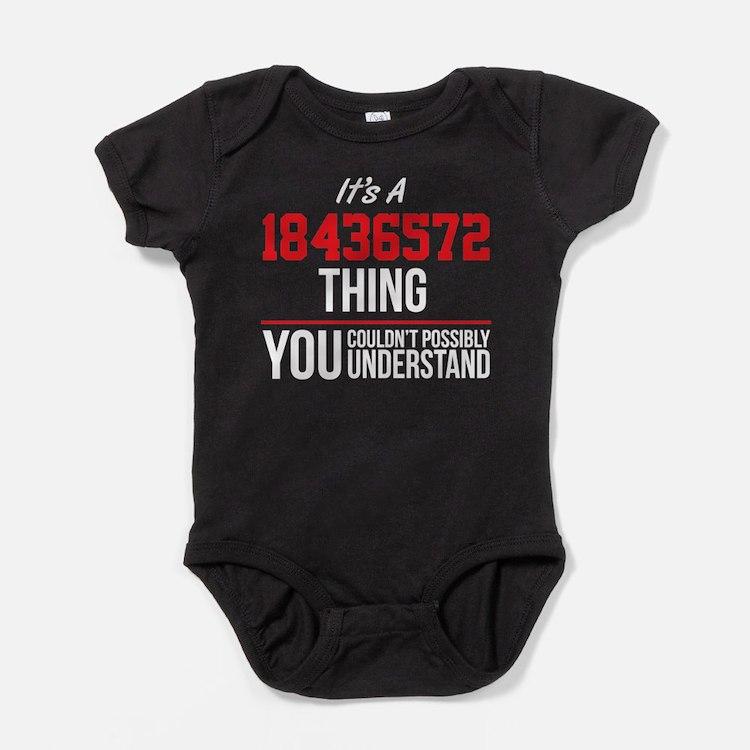 18436522 Firing Order Baby Bodysuit