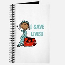 Female African American EMT Journal