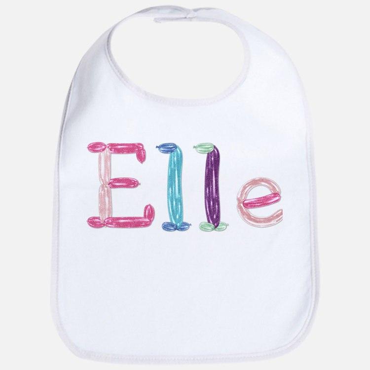 Elle Princess Balloons Bib