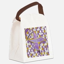 Putting all the puzzles back toge Canvas Lunch Bag