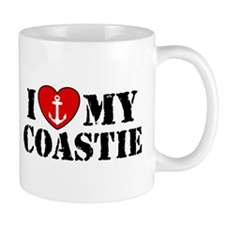 I Love My Coastie Mug