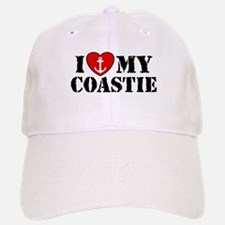 I Love My Coastie Baseball Baseball Cap