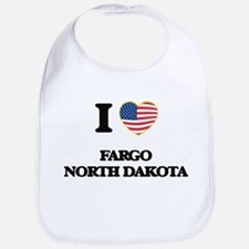 I love Fargo North Dakota Bib
