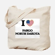 I love Fargo North Dakota Tote Bag