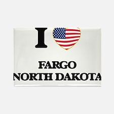 I love Fargo North Dakota Magnets