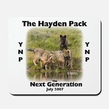 Yellowstone Wolf Pup Gifts Mousepad