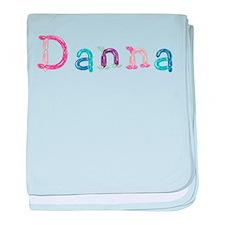 Danna Princess Balloons baby blanket
