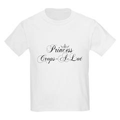 Fancy Princess Crops-A-Lot T-Shirt