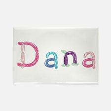 Dana Princess Balloons Rectangle Magnet
