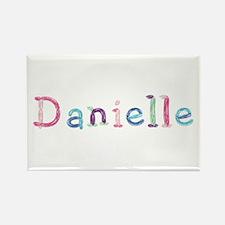 Danielle Princess Balloons Rectangle Magnet