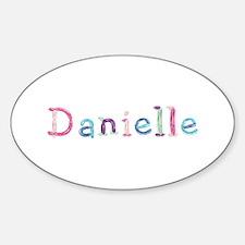 Danielle Princess Balloons Oval Decal