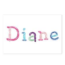 Diane Princess Balloons Postcards 8 Pack