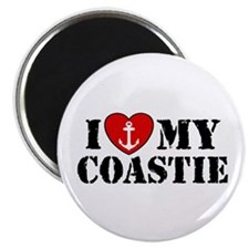 I Love My Coastie Magnet