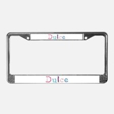 Dulce Princess Balloons License Plate Frame