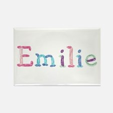 Emilie Princess Balloons Rectangle Magnet