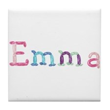 Emma Princess Balloons Tile Coaster
