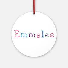 Emmalee Princess Balloons Round Ornament