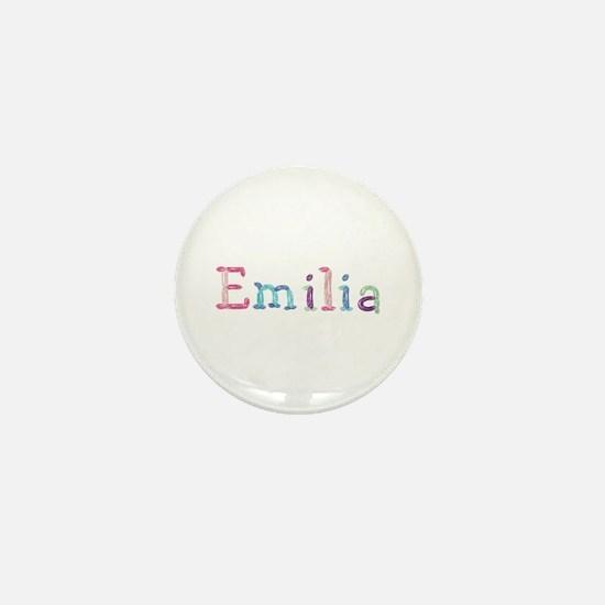 Emilia Princess Balloons Mini Button