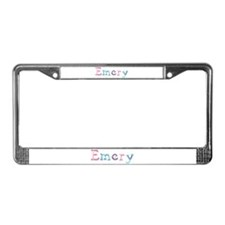 Emery Princess Balloons License Plate Frame