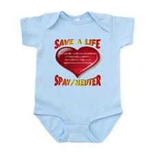 Save A Life Spay/Neuter Infant Bodysuit
