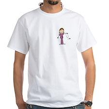 Brunette Female Nurse Shirt