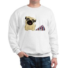 Birthday Pug Sweatshirt
