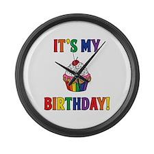 It's My Birthday! Large Wall Clock