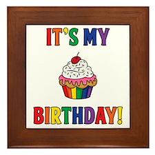 It's My Birthday! Framed Tile