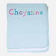 Cheyanne Princess Balloons baby blanket
