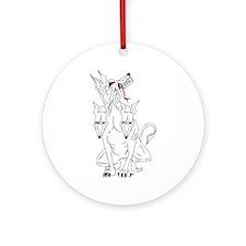 Cerberus Hellhound Ornament (Round)
