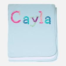 Cayla Princess Balloons baby blanket