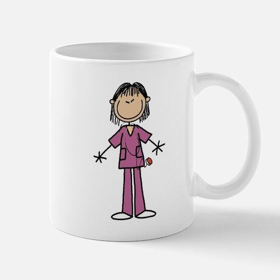 Asian Female Nurse Mug