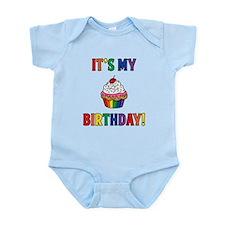 It's My Birthday! Rainbow Body Suit