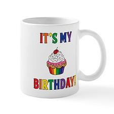 It's My Birthday! Rainbow Mugs
