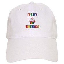 It's My Birthday! Rainbow Baseball Cap