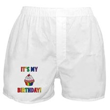 It's My Birthday! Rainbow Boxer Shorts