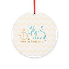 Block Island Life Ornament (Round)