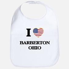I love Barberton Ohio Bib