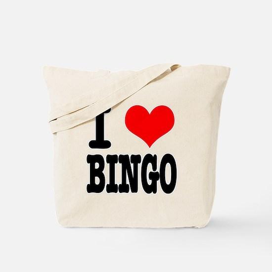 I Heart (Love) Bingo Tote Bag