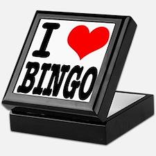 I Heart (Love) Bingo Keepsake Box