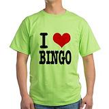 Funny bingo Green T-Shirt