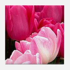 Vibrant Pink Tile Coaster