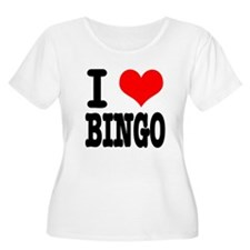 I Heart (Love) Bingo T-Shirt