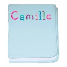 Camille Princess Balloons baby blanket