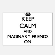 Keep Calm and Imaginary F Postcards (Package of 8)