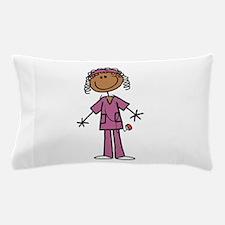 African American Female Nurse Pillow Case