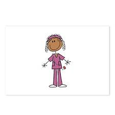 African American Female N Postcards (Package of 8)